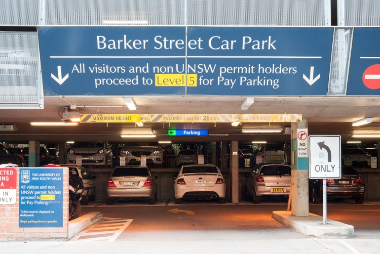 Parking | Estate Management | UNSW Sydney