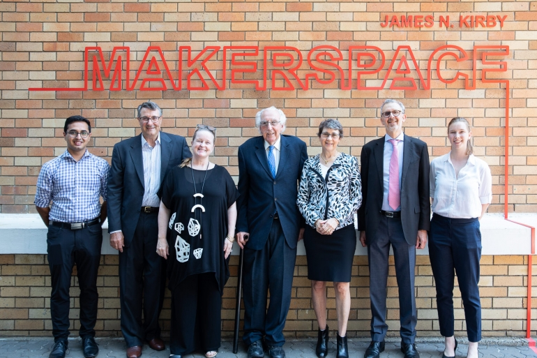 Launch of James N Kirby Makerspace