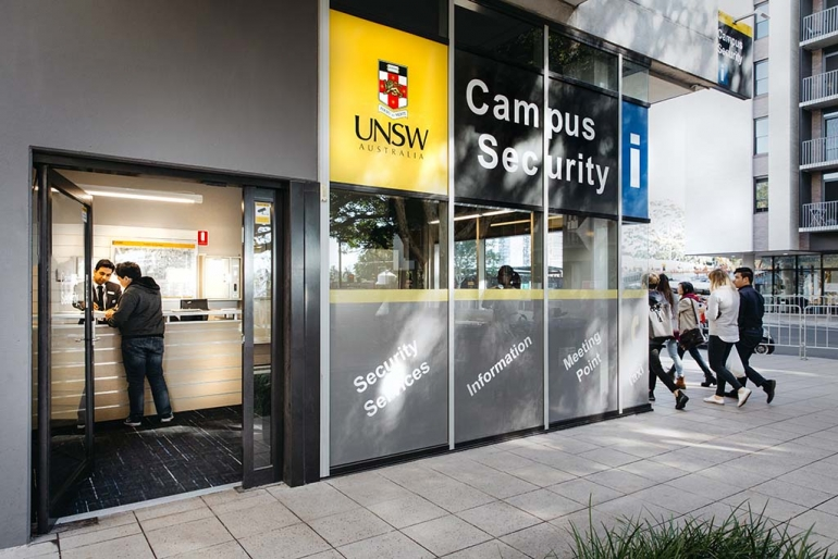 UNSW security office