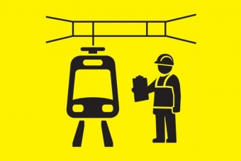 Tram cartoon image