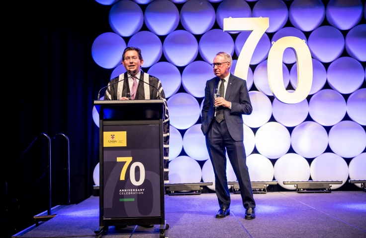 Ian Jacobs speaks at 70th Anniversary celebrations