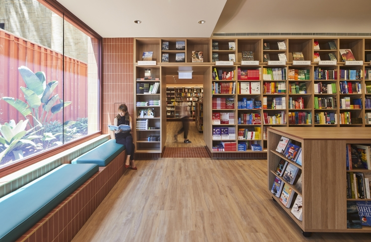 UNSW Bookshop Interior