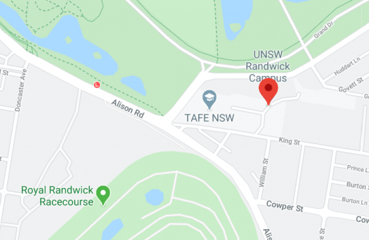 Randwick campus map